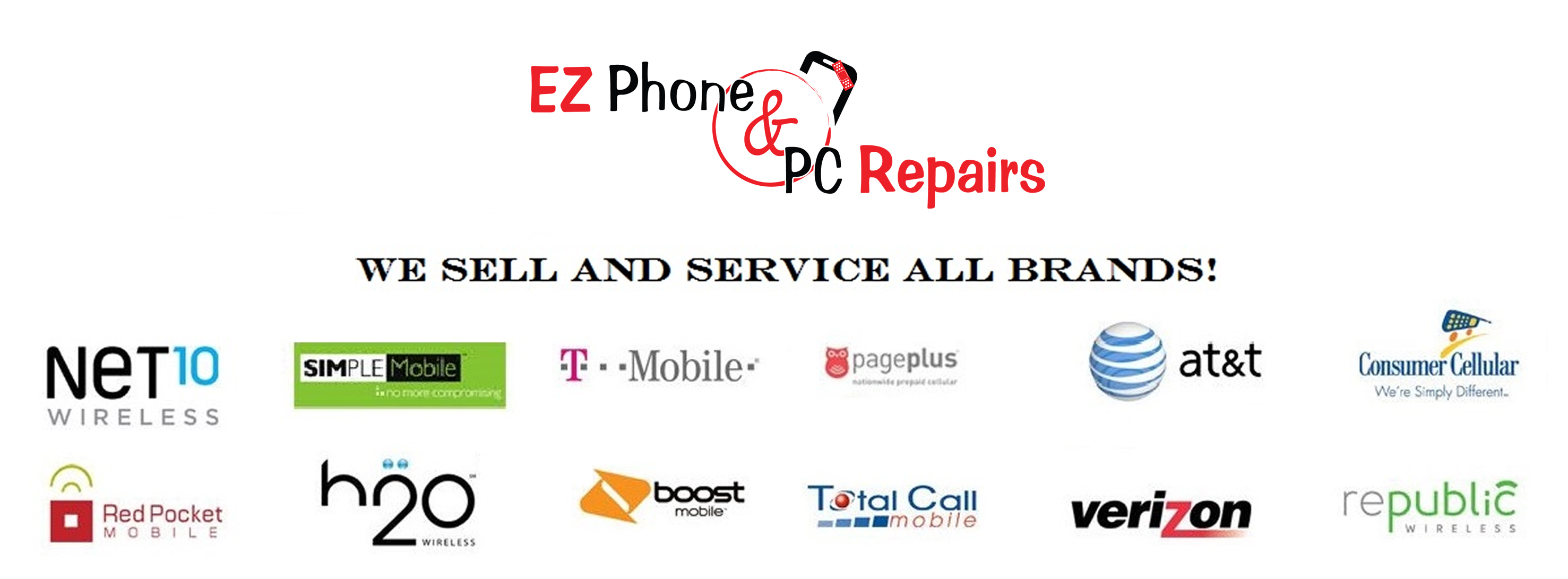 Other carriers – Ez Phone N PC repairs